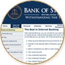Bank of Stockton offers Internet Banking and a bank website